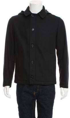 Marni Hooded Wool Jacket