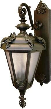 Alcott Hill Petrey 3-Light Outdoor Wall Lantern Alcott Hill