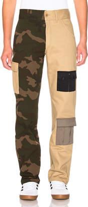 Gosha Rubchinskiy Bicolor Camo Cargo Pant