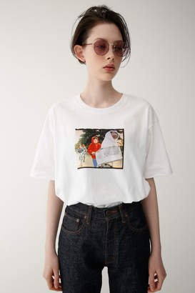Moussy (マウジー) - E.T. SW Fly off PHOTO Tシャツ