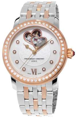 Frederique Constant World Heart Foundation Diamond Automatic Watch 34mm