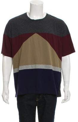 Valentino Patchwork Crew Neck T-Shirt