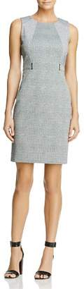 Calvin Klein Faux Belt Sheath Dress - 100% Exclusive