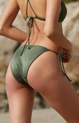 La Hearts Tie Side Bikini Bottom