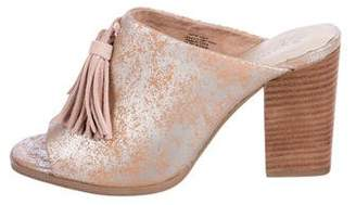 Seychelles Suede Slide Sandals
