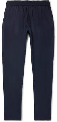 Sunspel Ian Fleming Textured Tropical Wool Drawstring Trousers
