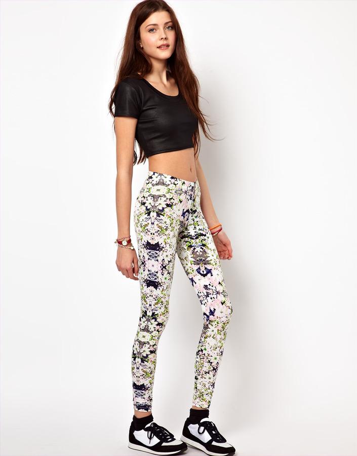 Vero Moda Digital Print Legging