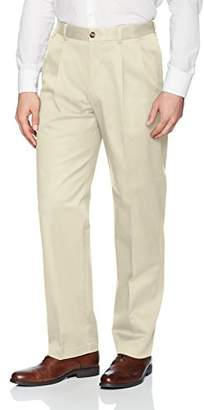 Savane Men's Pleated Stretch Ultimate Performance Chino