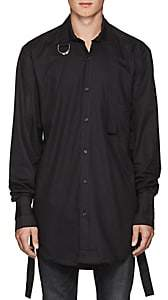 Blood Brother MEN'S QUAKE COTTON SHIRT-BLACK SIZE M