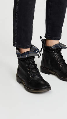 Free People Portland Lace Up Boots