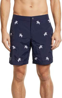 Trunks boto Aruba Embroidered 8.5 Inch Swim