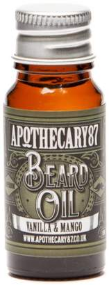 Apothecary 87 Beard Oil A Vanilla and Mango Fragrance 10ml