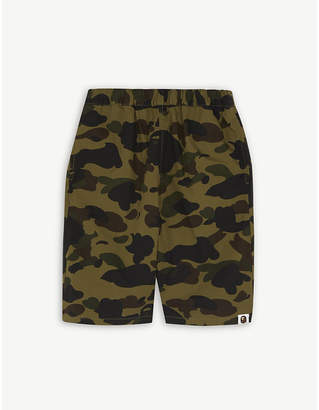 A Bathing Ape 1st camouflage cotton shorts 4-10 years