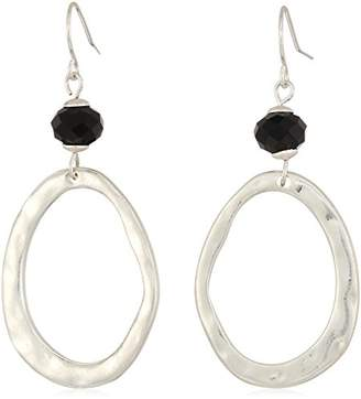 The Sak Women's Beaded Link Double Drop Earrings