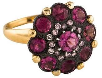 Arman Sarkisyan Pink Tourmaline & Pink Diamond Cupcake Ring
