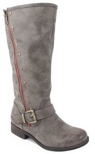 Mia Mavis Girls' Studded Riding Boots $60 thestylecure.com