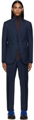 Ermenegildo Zegna Blue Milano Easy Suit