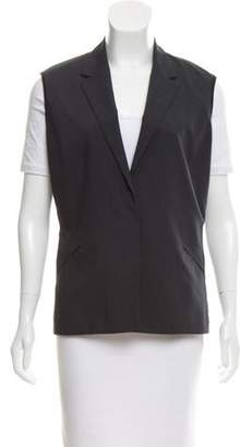 Zero Maria Cornejo Notch-Lapel Sleeveless Vest