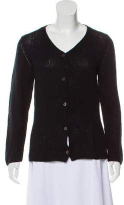 Malo Cashmere Button Front Cardigan