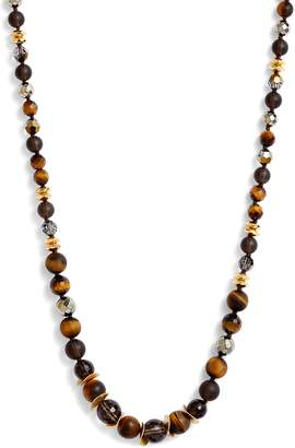 Chan Luu Chan Lui Tiger's-Eye Bead Necklace