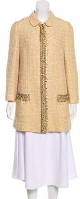 Dolce & Gabbana Tweed Embellished Jacket w/ Tags