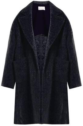 Raey Dropped-shoulder wool-blend blanket coat