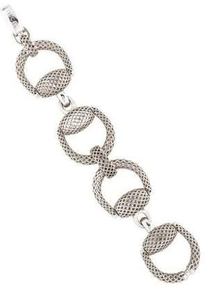 Gucci Horsebit Diamantissima Bracelet