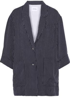 American Vintage Janebay Pinstriped Woven Jacket