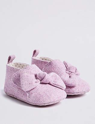 Marks and Spencer Baby Bow Pram Shoes