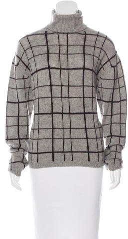 prada Prada Cashmere Patterned Sweater