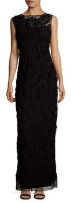 JS Collections Column Gown