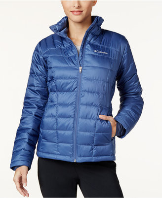 Columbia Pacific Post Thermal Coil Puffer Jacket $150 thestylecure.com