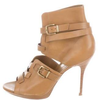 Gianvito Rossi Buckled-Up Booties