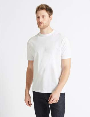 Marks and Spencer Pure Cotton T-Shirt with Cool Comfort