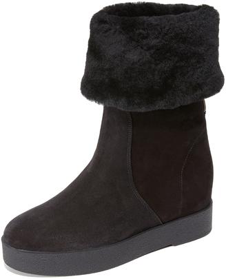Salvatore Ferragamo Falcon Boots $575 thestylecure.com