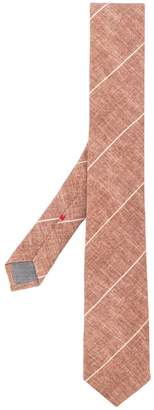 Brunello Cucinelli diagonal stripes tie