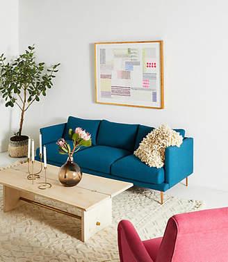 Anthropologie Linde Three-Cushion Sofa
