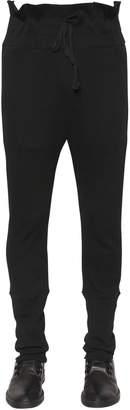 Ann Demeulemeester Cotton Jersey Sweatpants