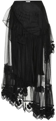 Simone Rocha Moncler Genius 4 MONCLER tulle skirt