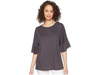 LAmade Erin Ruffle Sleeve Tee Women's T Shirt