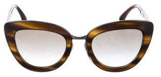 Chanel Spring Cat-Eye Sunglasses