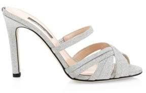 Sarah Jessica Parker Indulge Glitter Mules