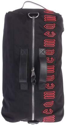 McQ (マックキュー) - Black Branded Duffle Bag