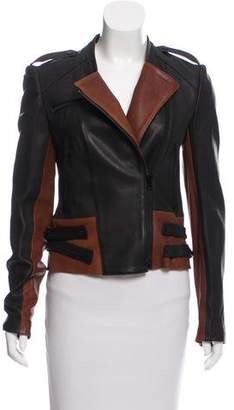 A.L.C. Two-Tone Leather Jacket