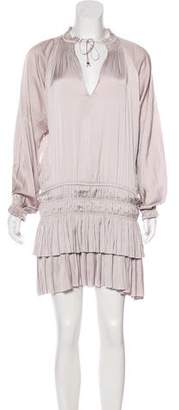 Ulla Johnson Long Sleeve Mini Dress