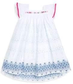 Petit Lem Girl's Patterned Cotton Dress