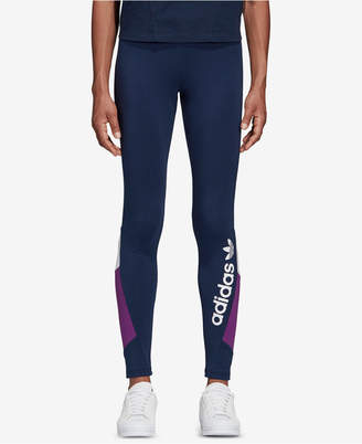 adidas Retro-Inspired Colorblocked Leggings