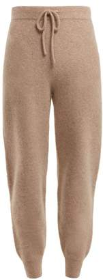 Joostricot - Cashmere Blend Track Pants - Womens - Light Brown
