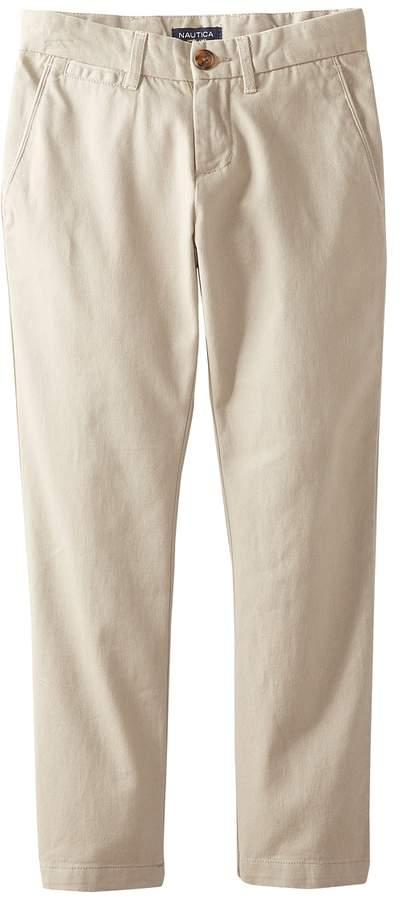 Flat Front Pants Boy's Casual Pants