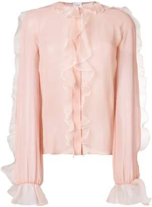 Giambattista Valli delicate ruffle blouse